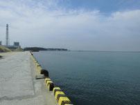 宇島港 港内 奥側の写真