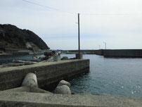 矢玉漁港 波止の写真1