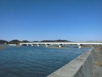 厚狭川 山陽自動車道の橋 の写真
