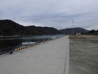 中関ふ頭 係船場付近の写真