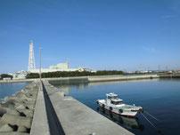 刈屋漁港 大波止の写真