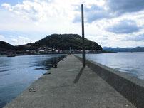 通漁港 波止の写真