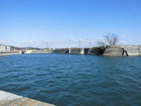 厚狭港 流れ込み の写真