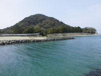 菊ヶ浜海水浴場 萩城跡の写真