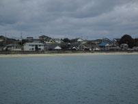 床波漁港 白土海水浴場の写真