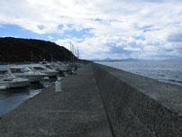 吉見漁港 外波止の写真