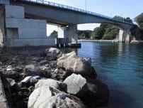 青海島大橋下周辺 の写真