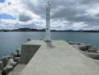 安岡漁港 外波止・先端付近の写真