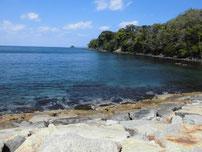 美萩海浜公園 波止右側の写真