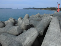和久漁港 外波止の写真