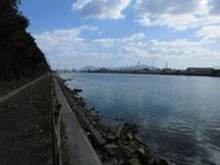 若松運河 埋立地側 の写真2