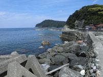 惣郷の港 外波止・付け根付近の写真