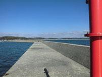 厚狭港 外波止の写真