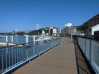 門司区東港の波止 釣り禁止場所の写真