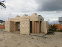 牧山海岸 トイレの写真