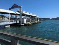 門司行き関門汽船桟橋の写真