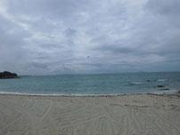 吉母 御崎手前の砂浜の写真1