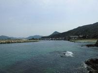 橋本川河口 河口周辺の写真