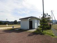 掛淵漁港 トイレの写真