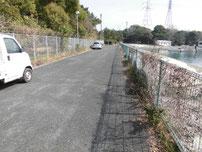 豊前発電所周辺 駐車可能箇所の写真