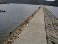 防府マリーナ 波止の写真