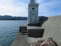 掛淵漁港 波止先端 の写真
