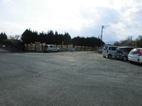 井ノ浦 導流提 駐車箇所の写真