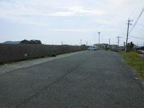 蓑島海水浴場 駐車場の写真