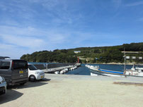 久津漁港 外波止の写真