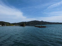 久原漁港 沖波止の写真