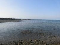 八津田漁港 左側の写真