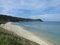大浜海水浴場 砂浜の写真