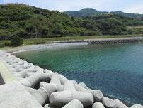惣郷の港 左側の写真