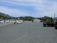 須佐漁港 駐車場の写真