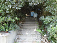 彦島南公園下海岸 遊歩道の写真