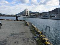 高浜港 港内の写真