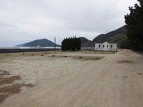 富海海岸 駐車場の写真