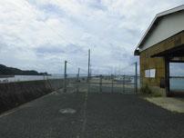吉母漁港 大波止立入禁止の写真