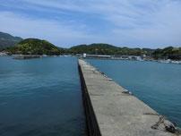 須佐漁港 内波止の写真