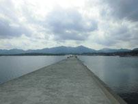 室津下漁港 外波止の写真1
