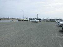宇島漁港 内波止横 駐車場の写真
