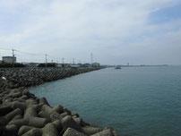宇島漁港 内波止・左側の写真