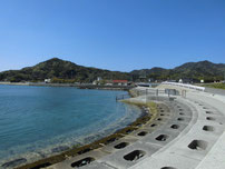 道の駅 阿武 横護岸 の写真