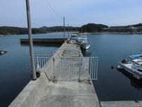 和久漁港 立入禁止の波止1 の写真