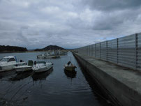 丸尾漁港 内波止の写真