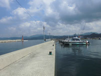川棚漁港 内波止の写真1