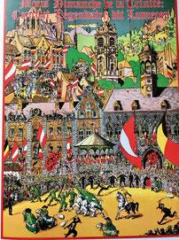 Crédit Photo : Livre la Ducasse Rituelle de Mons. Sous la direction de B. Kanabus