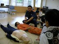 地域交流:地域公開講座 AED講習会