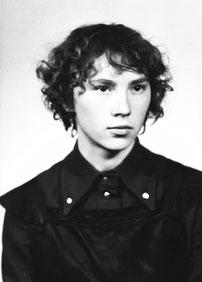Таня Косицына, ученица 281-й школы. 1972 г.