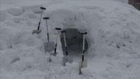 雪洞とセツドウくん
